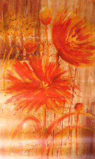 Flower,flowers,pair of flowers,flower pair,red flowers