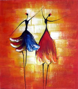 Invigorating - Handpainted Art Painting - 24in X 36in