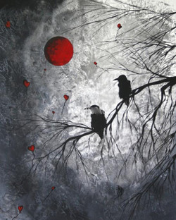 Beauti of Nature,Bird,Love,Romantic Night,Peace