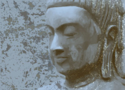 buddha, buddha with closed eyes, buddha sclupture