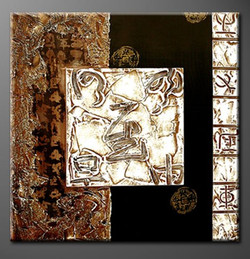 Abstract,Stroke,Richness,Square Design