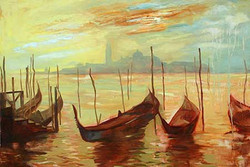 55Landscape41 - 30in X 24in,55Landscape41_3024,Oil Colors,Nature,Yellow, Brown,Rs.2790,Landscape and Seascape;Latest Collection;By Orientation and Size/Horizontal/Medium (25in to 32in);Full Collection,Museum Quality - 100% Handpainted