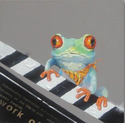Frog,Frog Playing Music,Playing Piano,Water Animal