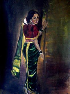woman, lady, girl, indian woman, woman in saree, maharashtrian woman, indian lady
