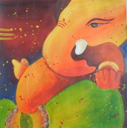 ganesha, lord ganesha, ganapati, elephant God