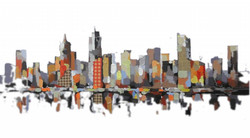 Landscape,Cityscape,Abstract City