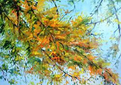 Spring - Handpainted Art Painting - 26in X 19in