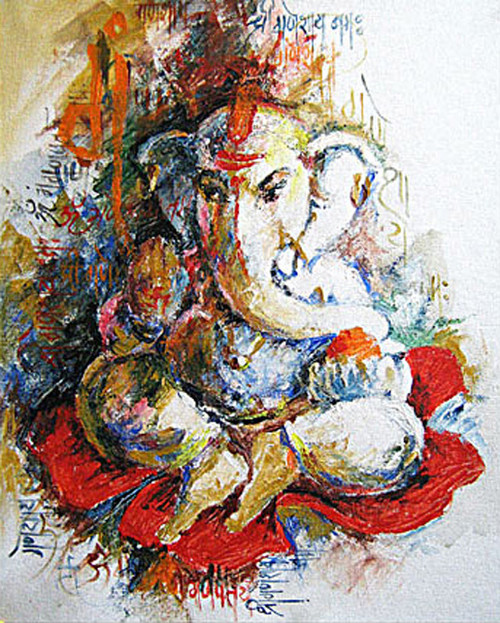 Buy Lord Ganesh 8 Flower By Vekkas Mahalley Rs 7190