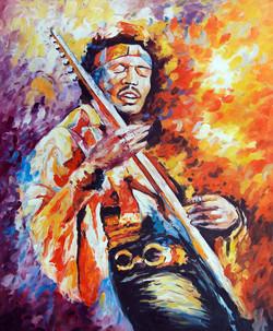 man, man playing guitar, guitar, musical instrument, man playing musical instrument painting, man playing guitar painting, music, music and dance