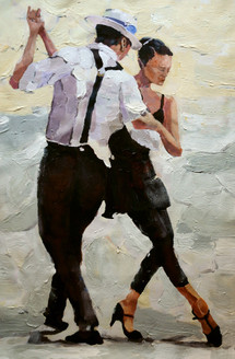 couple, couple dancing, dance, salsa, romantic, romantic couple dancing, dance painting