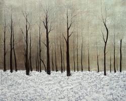 Like a Desert - Handpainted Art Painting - 32in X 32in