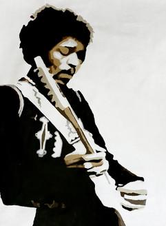 man, man with guitar, man playing guitar, pop art, musician