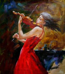 lady, girl ,woman, girl playing violin, violin, girl playing musical instrument, music, musical instrument