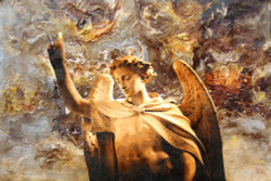 angel, man with wings, wings, religious