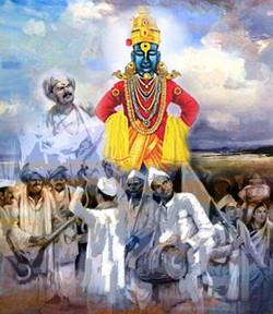 vitthal, pandharpur  , vitthal rukhmai, mauli, people playing music,
