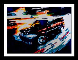 abstract , abstract car, abstract black car