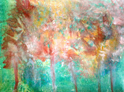 abstract, tree, trees, forest, abstract trees