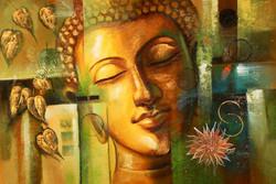 Buddha,Peace,Murlidhar,Peace,Green Shade Buddha,Wheel