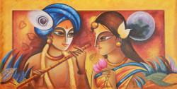 Religious,Krishna,Blue Krishna,Krishna with Flute,Radha Krishna ,Love,Romance