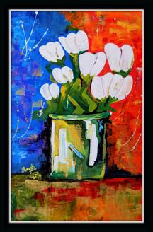flower, blossom, white flower, flower vase, white flowers in vase