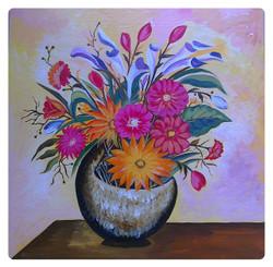 Flower Bucket,Beautiful Flowers,Flower Basket