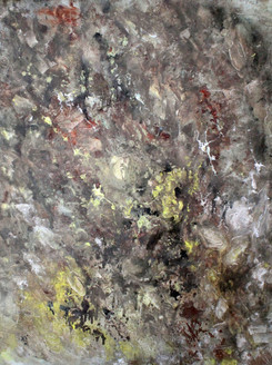 Goldmine - Handpainted Art Painting - 27in X 31in