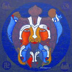 Krishna, lord krishna, krishna with gopi,gopikas, abstract krishna, dashavatar