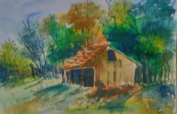village, man in village, house, houses in village, village man, man in dhoti, farm, man working in farm