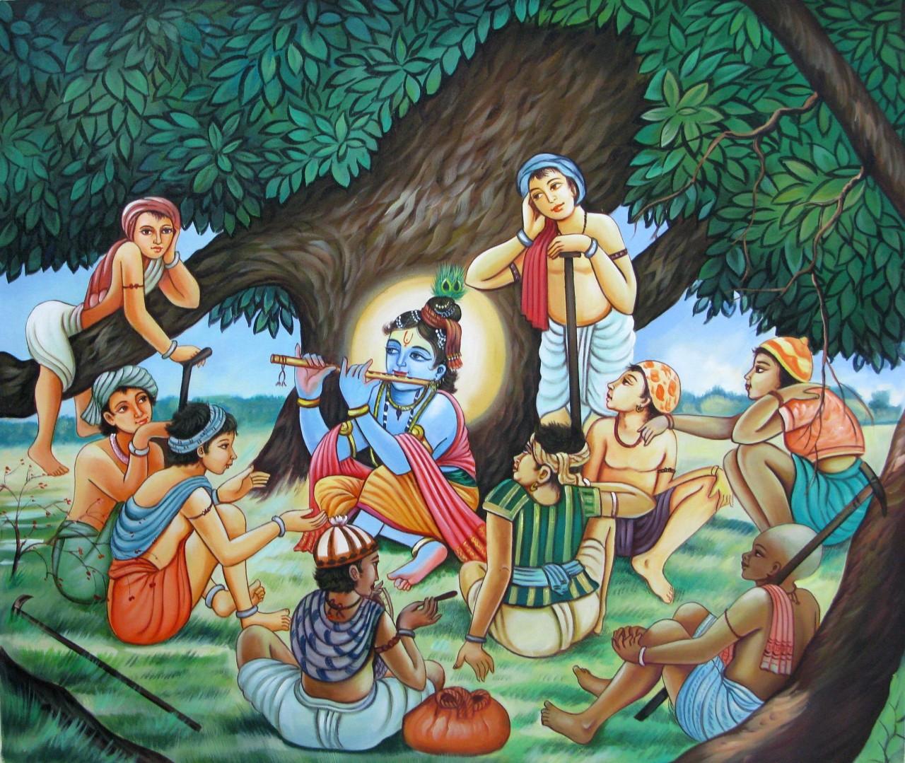 Krishna Art For Dining Room