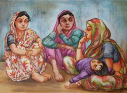 gossip,Ladies Talk,Three  ladies