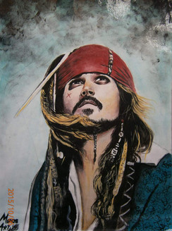 figurative, captain sparrow, jack ruseel