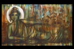 The Awakenned One,Buddha,Sleeping resting buddha