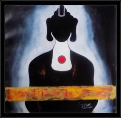 Buddha in Black ,buddha,meditation,Peace