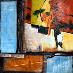 ColourPieces - 22in X 22in - Painting