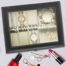 Personalized Jewelry Box - Black
