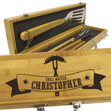 Custom Engraved BBQ Grilling Tool Set
