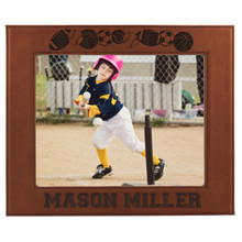 Personalized Sports Picture Frame for Boys and Girls