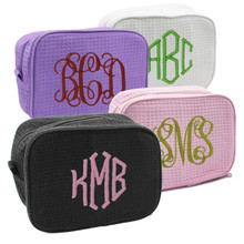 Monogrammed Make Up Bag Case