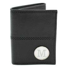 Personalized Trifold Leather Wallet