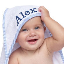 Personalized Hooded Baby Towel