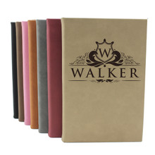 Personalized Engraved Leather Journal Notebook