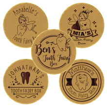 Custom Engraved Personalized Tooth Fairy Box