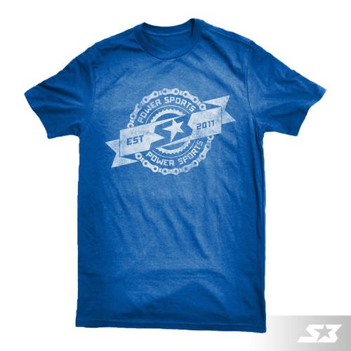 S3 Power Sports Vintage Logo T-Shirt