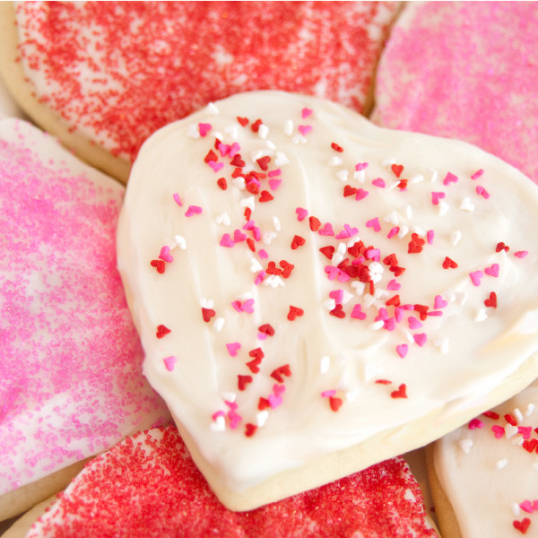 For your special someone or just for yourself, our cut-out sugar cookies are soft, sweet and made from scratch. Baked and shipped the same day, these buttery cookies are topped with cream cheese frosting and will make you the most popular person in your house or office. Order plenty to share - they disappear quickly!   Homemade in Ohio's Amish Country.