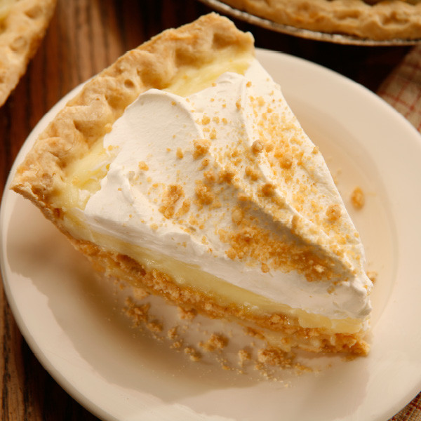 In our Der Dutchman Restaurants, Peanut Butter Cream Pie might be the number one pie we sell. Luscious vanilla custard filling is layered with peanut butter crumbs for a decadent treat. We carefully measure and package each ingredient to make your pie just like the ones we serve in our restaurants. No baking is required! Assemble in minutes, according to our included instructions. Prepared and shipped from Ohio's Amish Country.   Contents of the kit: One 9 inch pie crust Cooked vanilla custard filling Peanut butter crumbs Whipped cream