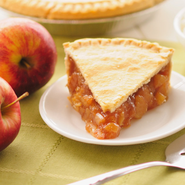 Sweetened with apple juice and Equal, our Country Apple Pie with No Sugar Added is a perfect choice for those on a limited sugar diet. Our diabetic pies are double crust, and brushed with butter only to brown the top crust. Pies will arrive pre-baked and frozen in an insulated shipping cooler. Simply thaw in the oven and your home will be filled with the sweet scent of our Amish bakery. Instructions are included. Baked and shipped from Ohio's Amish Country.   We do not use high-fructose corn syrup to make our fruit pie fillings.   Available as 9 inch pie.