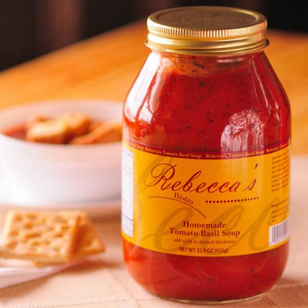 Walnut Creek, Ohio -  Rebecca's Bistro Tomato Basil Soup