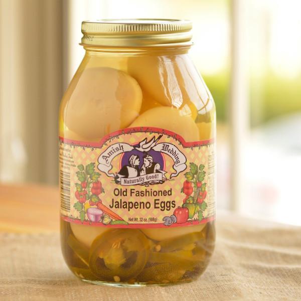 Amish Wedding Foods Old Fashioned Jalapeno Eggs