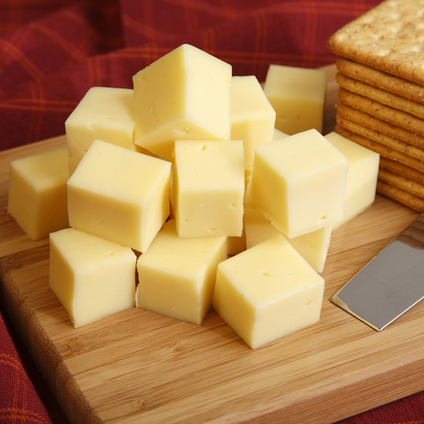 A mild and creamy cheese similar to Havarti, perfect for sandwiches and snacks. Sliced, grilled or melted, its smooth flavor and versatility have made it a must-have for every cheese lover. From Guggisberg Cheese.