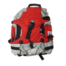 Ninebot One Series Backpack Light Grey and Red